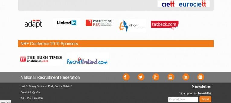 wordpress website created by the Irish website developer and designer Smiling Spiders