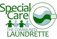 logo for the community launderette